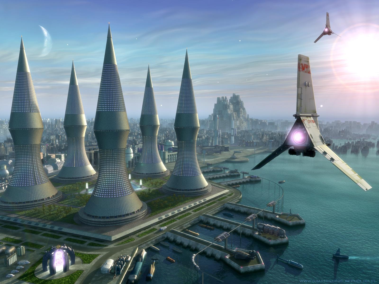 3d science fiction