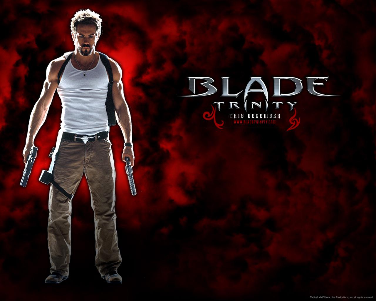 Blade Trinity   Wallpaper Blade Trinity