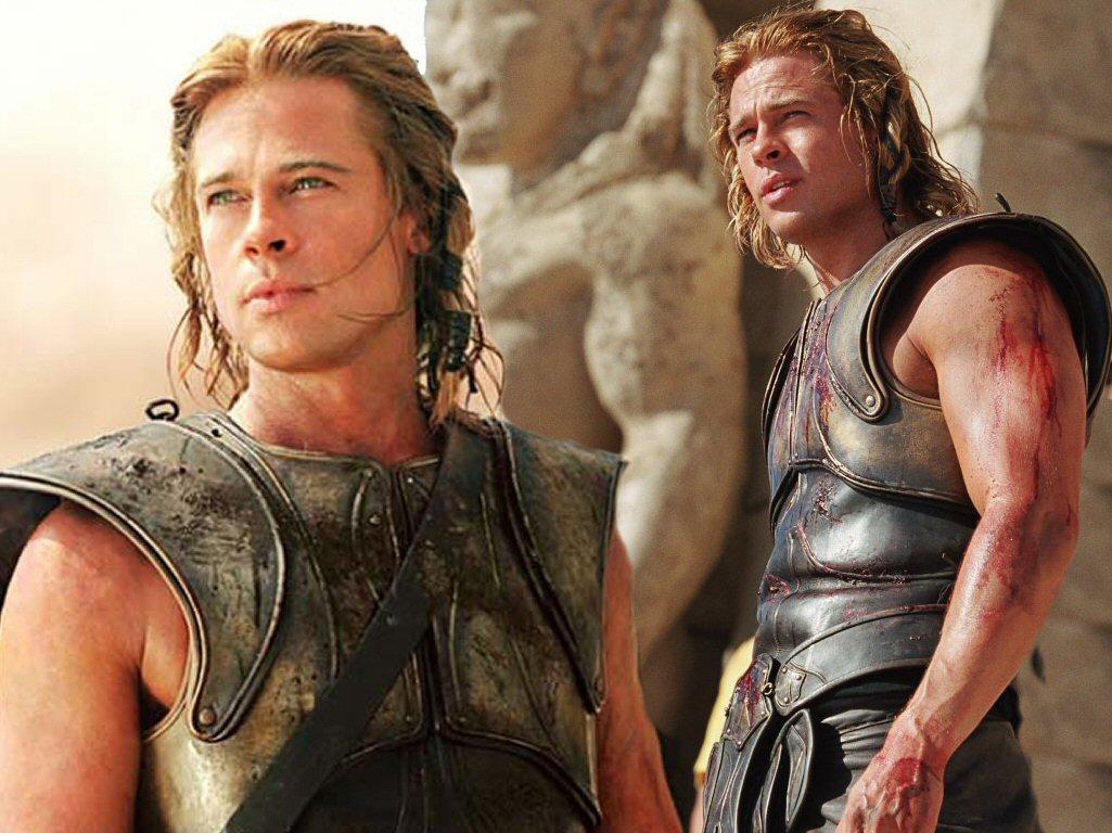 Brad Pitt as Troy