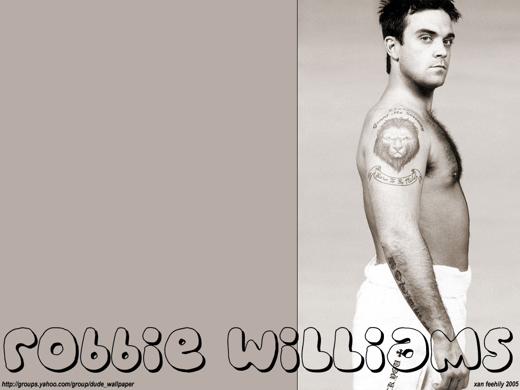 Robbie Williams - Wallpaper Actress