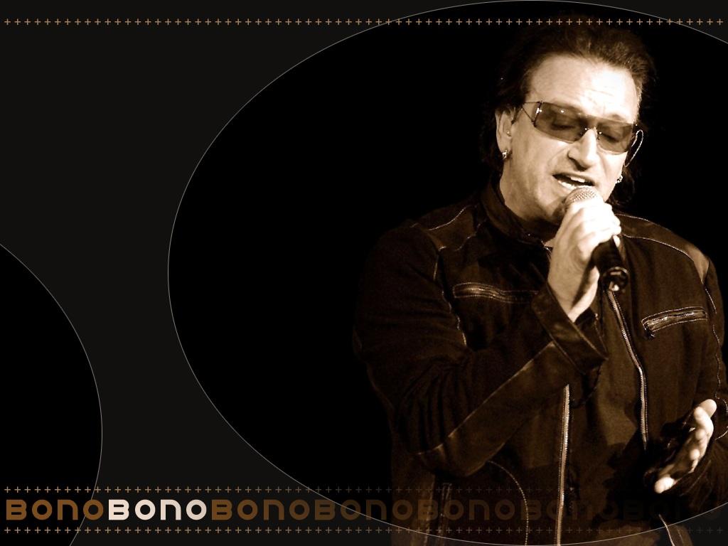 U2 Wallpaper U2 Bono